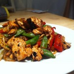 Make Chinese food at home: Honey &amp; Soy Salmon Stir Fry